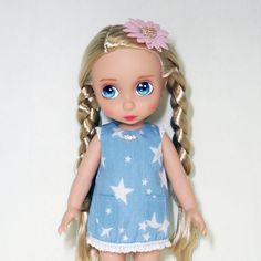 Disney-Baby-doll-clothes-A-line-dress-clothing-Animators-collection-Princess