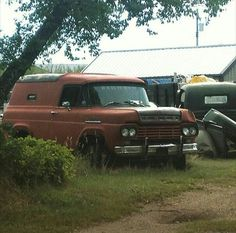 . Junk Yard, Panel Truck, Barn Finds, Trucks, Vehicles, Car, Automobile, Truck, Autos