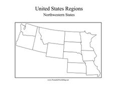 Lettuce Beef Cereal The Northwest Is Most Biriful Part Of USA US - Northwestern us map