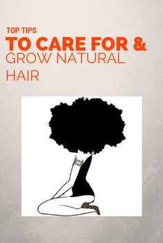 Top Tips to Care for and Grow Natural Hair - If you've recently decided to transition, go natural or just need tips on maintaining natural hai - Natural Hair Transitioning, How To Grow Natural Hair, Natural Hair Tips, Natural Hair Growth, Natural Hair Journey, Natural Hair Styles, Long Hair Styles, Natural Beauty, Natural Hair Regimen