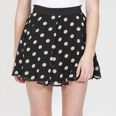 Minty Meets Munt Dalmation Skater Skirt, $79.95. Polka Dot Love!