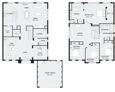 Newhaven 36, New Home Floor Plans, Interactive House Plans - Metricon Homes - Melbourne