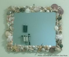 Seashells and Glue Guns: A Weekend Project!