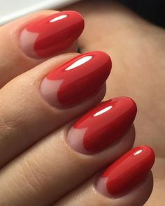 Nail Art Designs - Beautiful Nail Ideas for Red Manicure in 2020 Nail Art Designs - Beautiful Nail Ideas for Red Manicure in 2020 Moon Manicure, Red Manicure, Diy Nails, Red Shellac Nails, Beautiful Nail Art, Gorgeous Nails, Nail Art Vernis, Vintage Nails, Valentine Nail Art