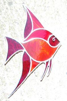 Angelfish Suncatcher by mairidesign on Etsy, $32.00