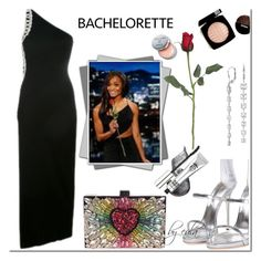 """""""Dress Rachel for the Bachelorette!"""" by eula-eldridge-tolliver ❤ liked on Polyvore featuring Blue Nile and Bobbi Brown Cosmetics"""