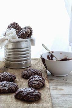 Biscotti vegani di grano saraceno al cocco e cioccolato fondente