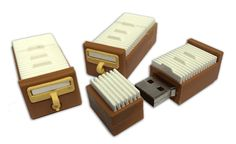 This Card Catalog USB Drive Can Hold All Your Books