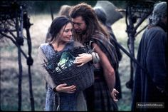Braveheart - Publicity still of Catherine McCormack & Mel Gibson. The image measures 800 * 525 pixels and was added on 27 May Catherine Mccormack, Movie Props, Movie Tv, English Army, William Wallace, Cinema, Mel Gibson, Child Actors, Braveheart