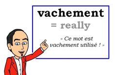 Le mot (familier) du jour : « vachement » [vaʃmɑ̃] ❗❗❗  #fle #Expressionoftheday #learnfrench #francais Tweets de Media par Les Machin (@Les_Machin) | Twitter