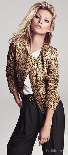 Kate Moss From the Mango 2012 Winter Collection