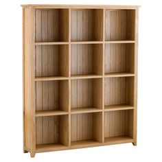 Accent Pidgeon Hole Shelving 1800 x 1500mm - Bookcases & Shelving - Home…