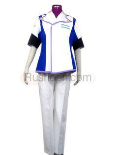 Gundam Seed Mwu La Flaga Cosplay Costume