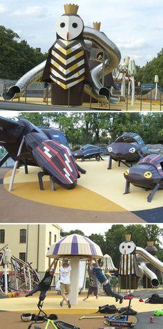 Kristineberg Slottspark  Monstrum parques infantiles 8