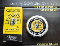 Beauty & The Bees Tasmania Real Beer Shampoo Bar and Conditioner Bar