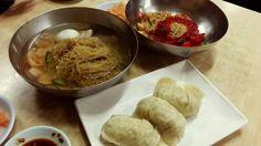2014.01.23. 막내 이사짐 옮긴후 평양냉면서 점심~ 여기가 봉피양보단 맛났다~