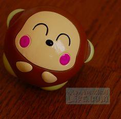 Monkichi Shaped Ball 1997 Sanrio | My Monkichi Life