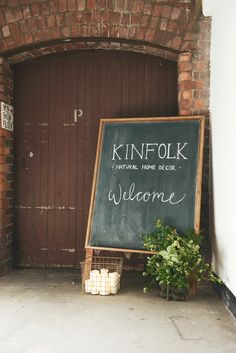 Kinfolk & West Elm Natural Home and Holiday Decor Workshop / photo by Laruen Bamford