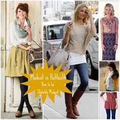 How to be stylishly modest
