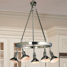Pullman Downlight Chandelier- love this one!