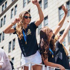 Tobin Heath | NYC Parade