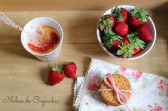 Cookcakes de Ainhoa: EL INVITADO DEL MES: NUBES DE CUPCAKES. MUG CAKE DE CHEESECAKE