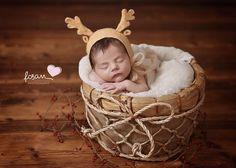 Newborn Baby photography Christmas