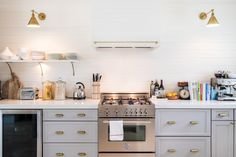 How To Make Over Your Rental Kitchen Cabinets for as Little as $20