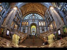 *Antwerpen Centraal* by erhansasmaz.deviantart.com on @DeviantArt