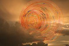Fotografo Vitor Schietti - Formas Pensamento. Artes visuales, composicion visual surreal, foto digital y acuarela. Atardecer, puesta de Sol. #sunset #artPics #coolstuff #iconocero