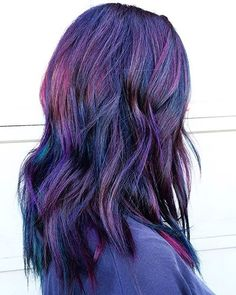 @hairbykotay Oil Slick Hair