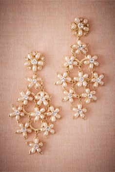 BHLDN Frangipani Chandeliers in  Shoes & Accessories Jewelry at BHLDN