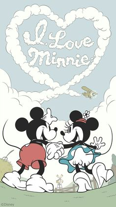 Shared by Naty. Find images and videos about love, wallpaper and disney on We Heart It - the app to get lost in what you love. Minnie Mouse Drawing, Mickey Mouse Wallpaper, Mickey Mouse Cartoon, Disney Phone Wallpaper, Mickey Mouse And Friends, Disney Mickey Mouse, Cartoon Wallpaper, Iphone Wallpaper, Cartoons Love