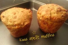 Kaas spelt muffins