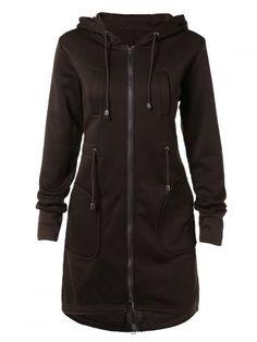 GET $50 NOW | Join RoseGal: Get YOUR $50 NOW!http://www.rosegal.com/coats/drawstring-zippered-pocket-design-coat-740372.html?seid=6475716rg740372