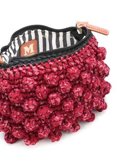 Acquista M Missoni knitted shoulder bag.