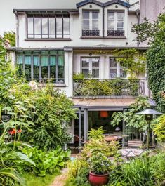 un jardin secret en rgion parisienne - Pinterest Jardin