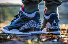 Jens Uhlemann - Air Jordan 3 Black Cement