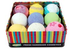 Lush Bath Bombs are Greatu! Try some or suggest as a gift You'll be happy you did! I still buy lots of Epson Salt these arent cheap ... us suffering deserve this Treat! Good Luck