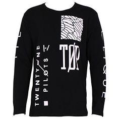 def86a8acea Twenty One Pilots Print Men T Shirt Long Sleeve Slim O Neck Fashion Casual  Male Tee Shirt Outdoor Tops High Quality Plus Size