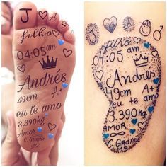 40 creative little tattoos ideas for mothers with kids - - 40 creative little . - 40 creative little tattoos ideas for mothers with children – – 40 creative little tattoos i - Mom Baby Tattoo, Tattoos For Baby Boy, Baby Feet Tattoos, Baby Name Tattoos, Mommy Tattoos, Tattoo For Son, Family Tattoos, Tattoos For Kids, Little Tattoos