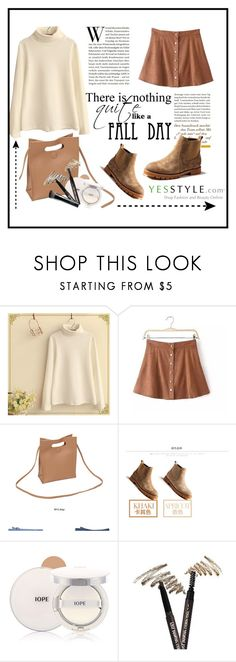 """""""Boots for Fall"""" by strange-girl0 ❤ liked on Polyvore featuring Fairyland, Chicsense, MIAOLV, Fall, Boots and yesstyle"""