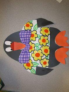 Live, Love, Laugh Everyday in Kindergarten: Tacky Penguin Craftivity#