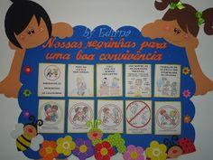 Painel combinados para sala de aula