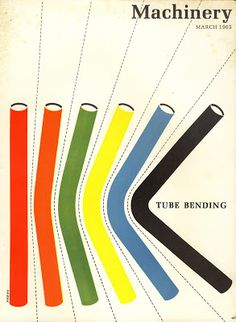Mad for Mid-Century: Mid-Century Design of Machinery Magazine