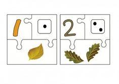 Numération 1 à 10 automne - chd école