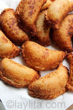 Empanadas de chorizo y queso