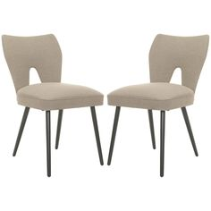 Safavieh MCR4603 Set of 2 Julia Dining Chair