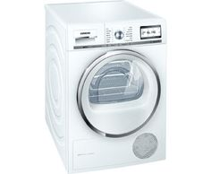 Buy Siemens Heat Pump Condenser Tumble Dryer, Load, A+++ Energy Rating, White from our Tumble Dryers range at John Lewis & Partners. Tambour, Laundry Appliances, Home Appliances, Tumble Dryers, Domestic Appliances, Range Cooker, Energy Consumption, Heat Pump