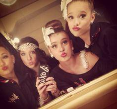 Maddie, Gianna, Kalani and Mackenzie